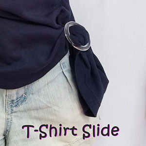 Accessories - 6 pieces T-Shirt Scarf Slide Buckle Ring Clear!!